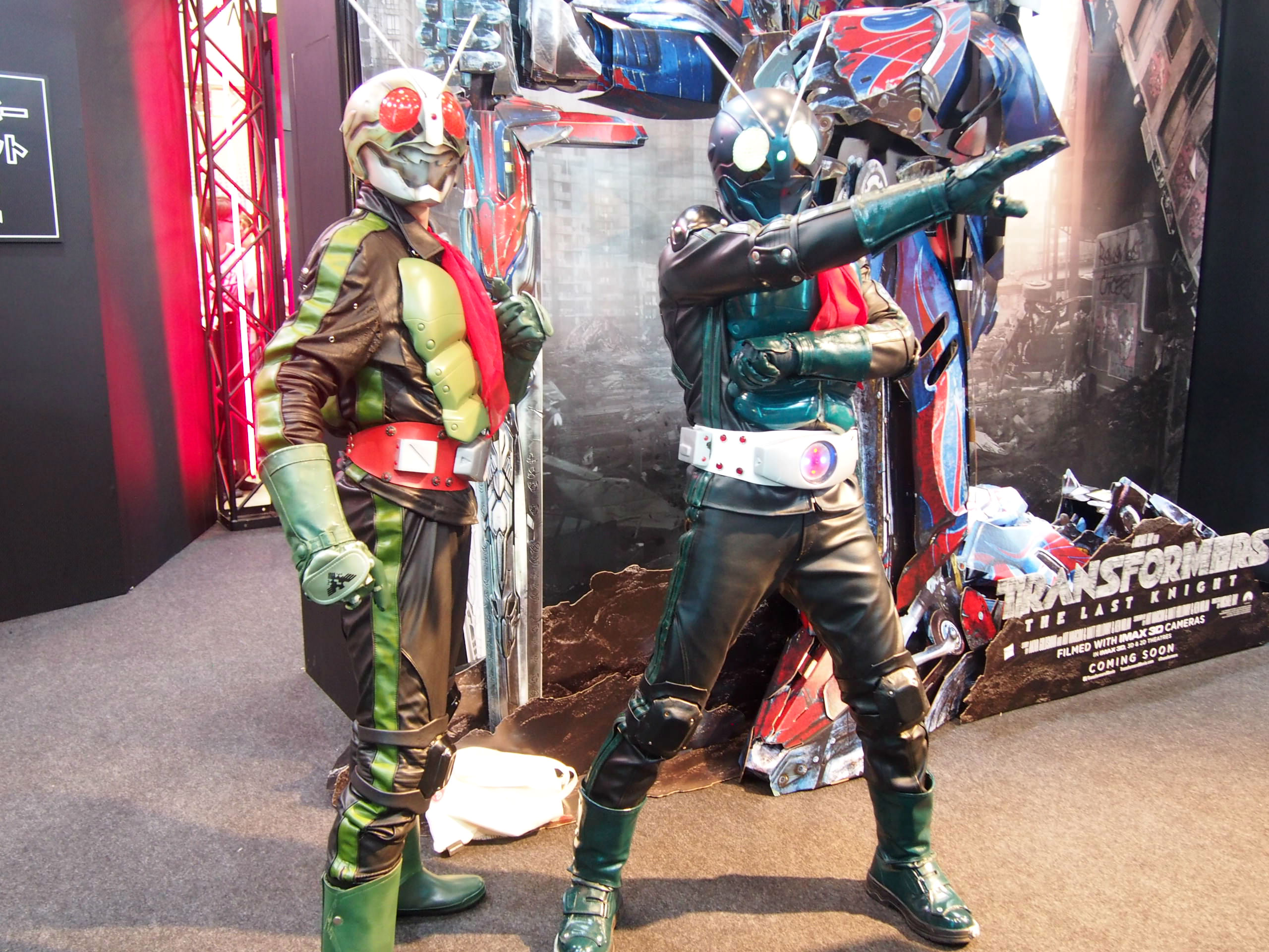 Cosplayer of Masked Rider
