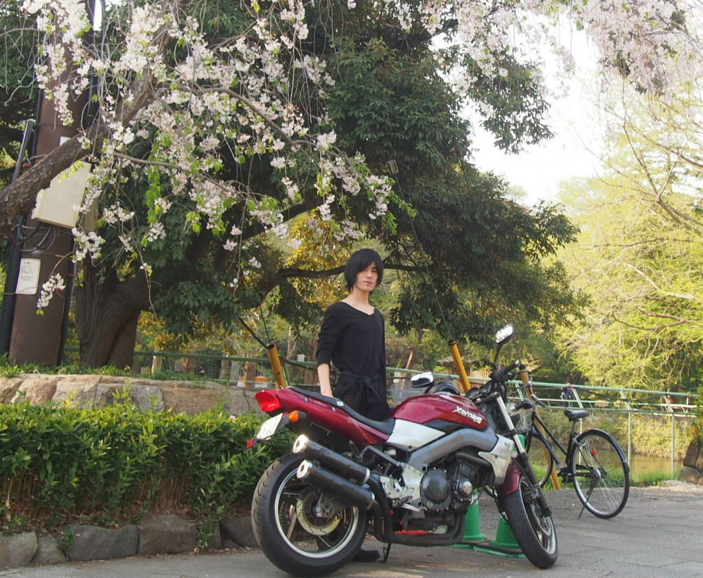 My picture with Motorcycle